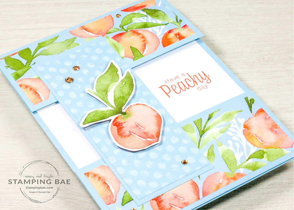 Sweet as a Peach, You're a Peach Stampin' Up! Card