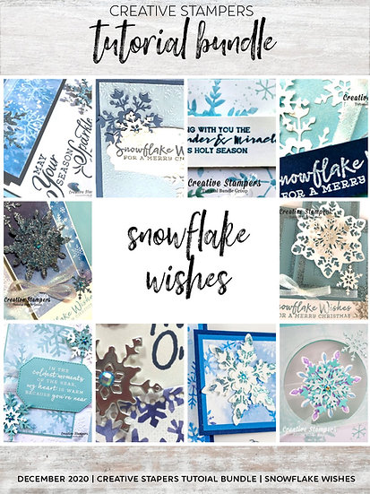 Snowflake Splendor Tutorials | Creative Stampers
