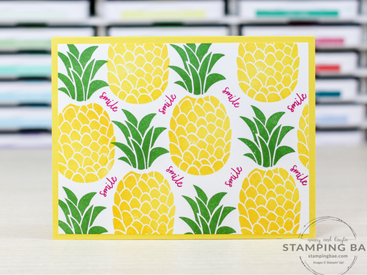 Cute Fruit Smile Card