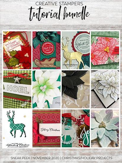 Christmas Tutorials | Creative Stampers