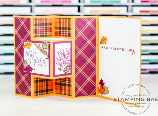 Autumn Trifold Shutter Card