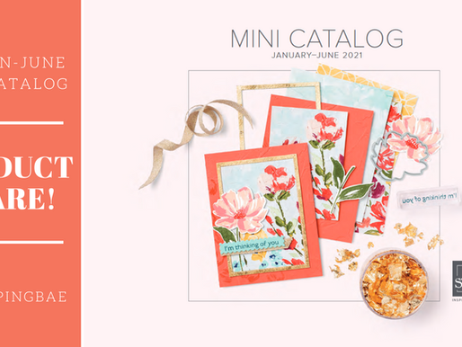 January-June 2021 Mini Catalog Product Share