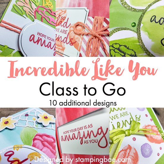 Incredible Like You Class to Go PDF Only