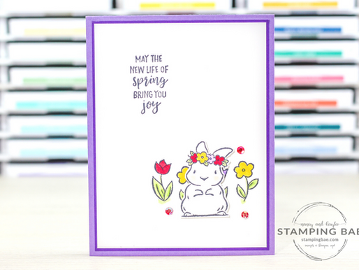 Springtime Joy Easter Card
