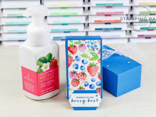 Berry Bath & Body Soap Box
