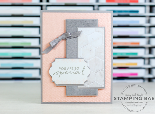 Feminine Tasteful Touches Card (MMM)