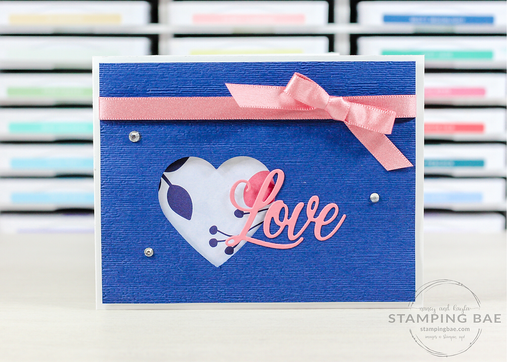 Paper Blooms Valentine's Day Love Card