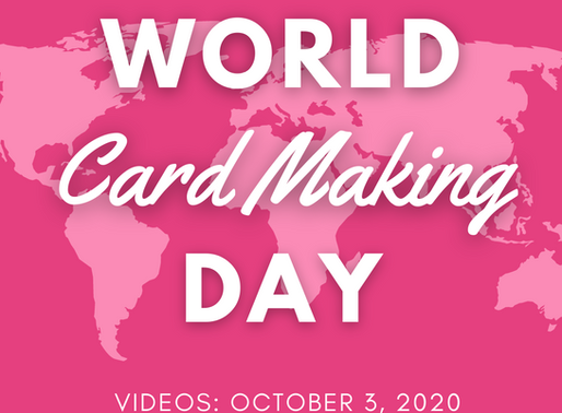 World Card Making Day Preview