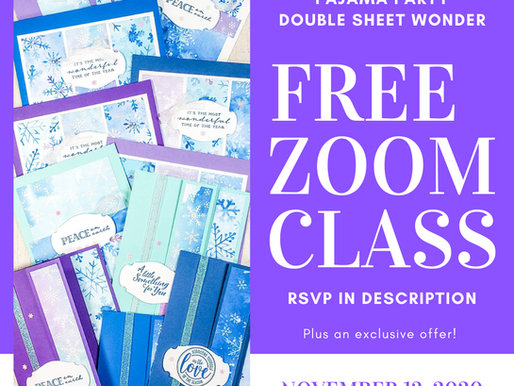 Pajama Party Double Sheet Wonder Zoom Class