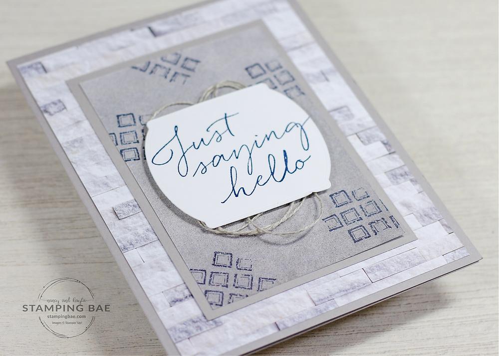 In Good Taste Designer Series Paper Stampin' Up!