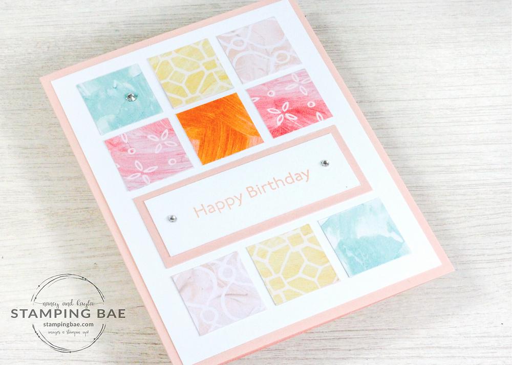 Fine Art Floral Designer Series Paper Stampin' Up!