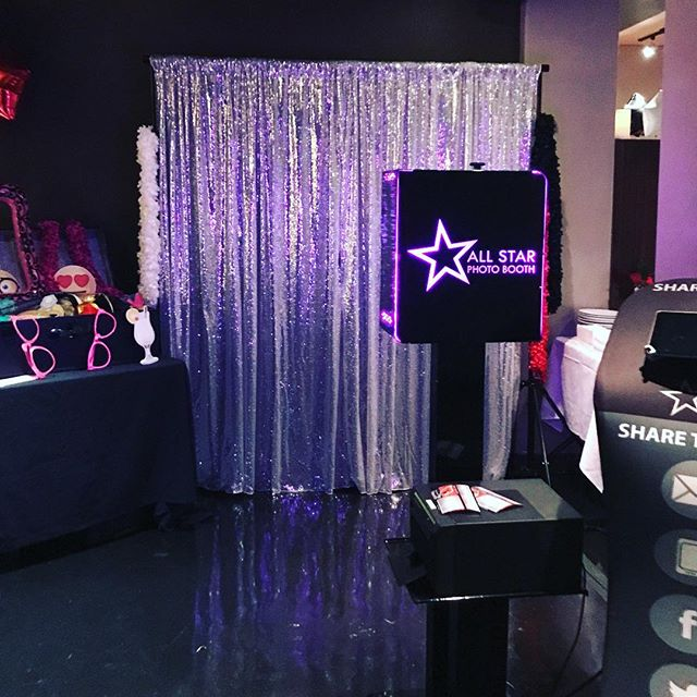 SILVER SEQUIN PHOTO BOOTH BACKDROP