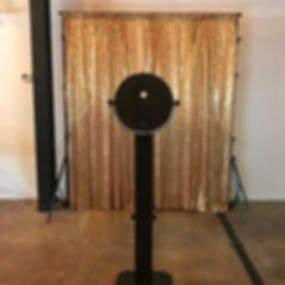 GOLD SEQUIN PHOTO BOOTH BACKDROP