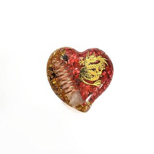 Οργονίτης καρδιά με δράκο