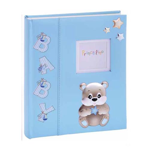 Παιδικό άλμπουμ με αρκουδάκι - μπλέ