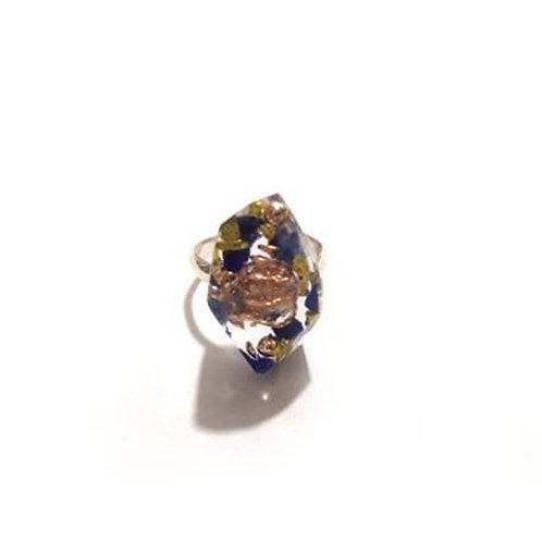 Δαχτυλίδι με οργονίτη & σοδαλίτη