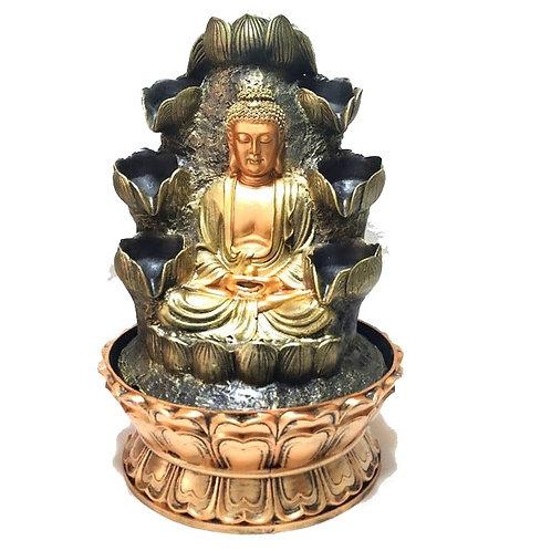 Συντριβάνι με Βούδα