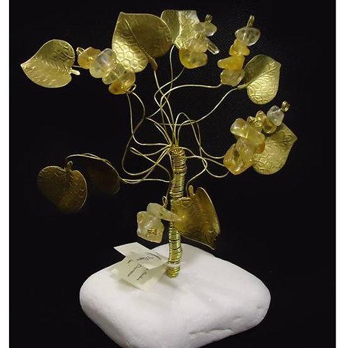 Δέντρο από κιτρίνη για αφθονία