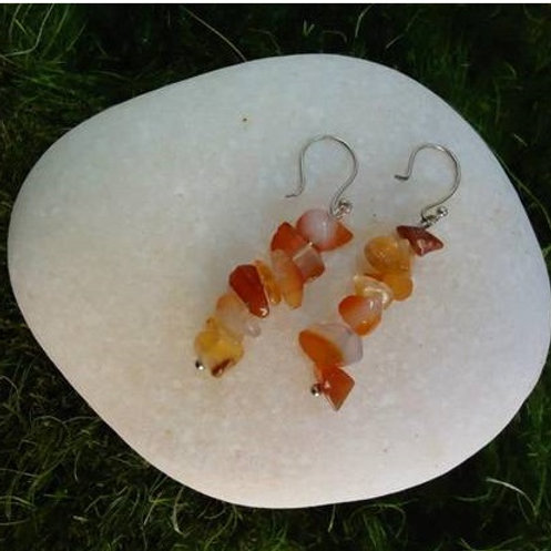 Σκουλαρίκια από Κορνεόλη