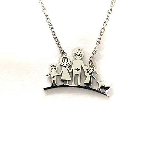 Happy family μενταγιόν