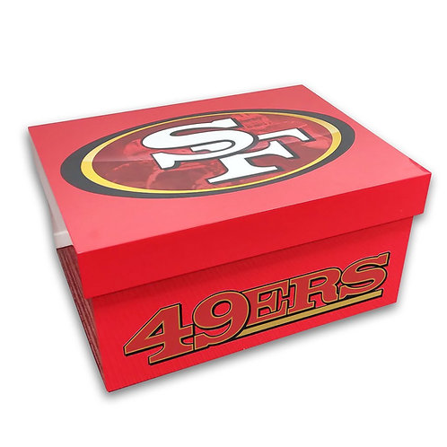 49ers Big Shoe Chest