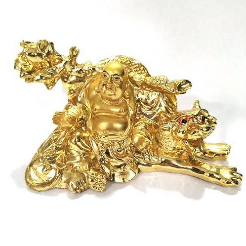 Βούδας με τίγρη