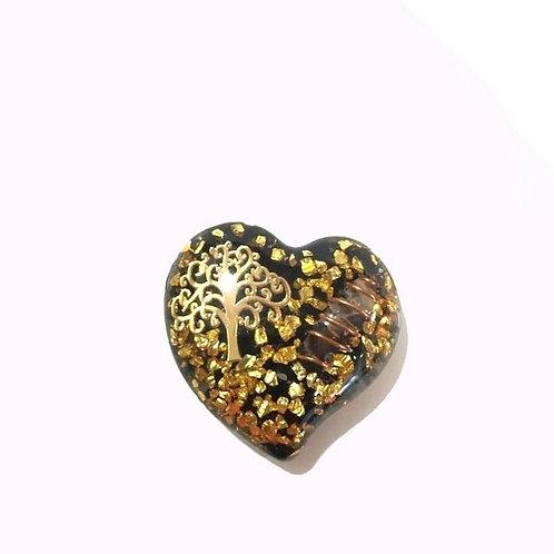 Οργονίτης Καρδιά με το δέντρο της ζωής