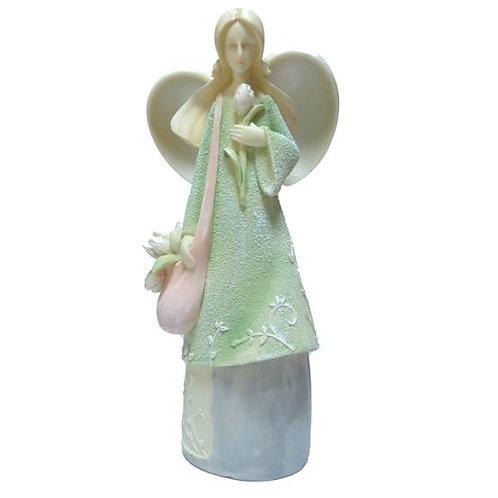 Άγγελος με τουλίπα