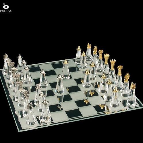 Σκάκι από κρύσταλλο Preciosa