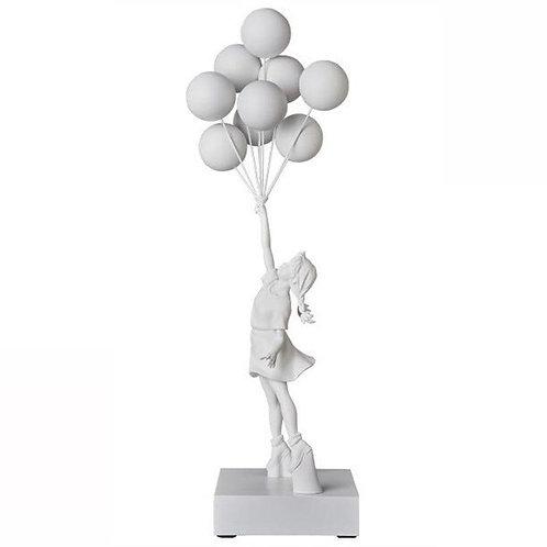 Flying Balloon Girl Statue