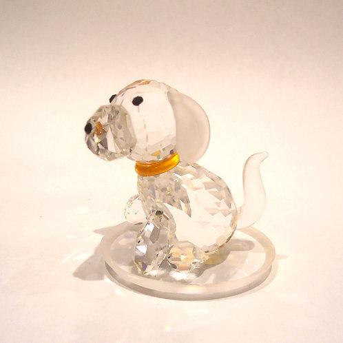 Μινιατούρα από κρύσταλλο Preciosa -Σκύλος