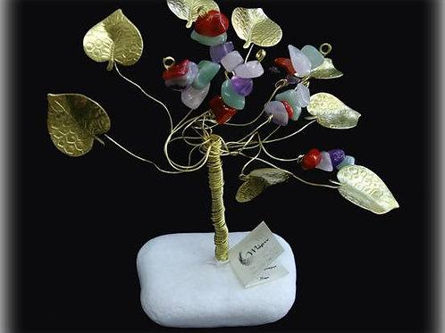 Δέντρο τύχης από ημιπολύτιμους λίθους