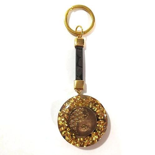 Μπρελόκ οργονίτη με το σύμβολο Yin Yang