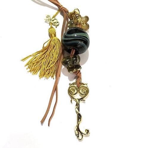 Γούρι χρυσό με κλειδί