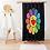 Thumbnail: Street Art Shower Curtain