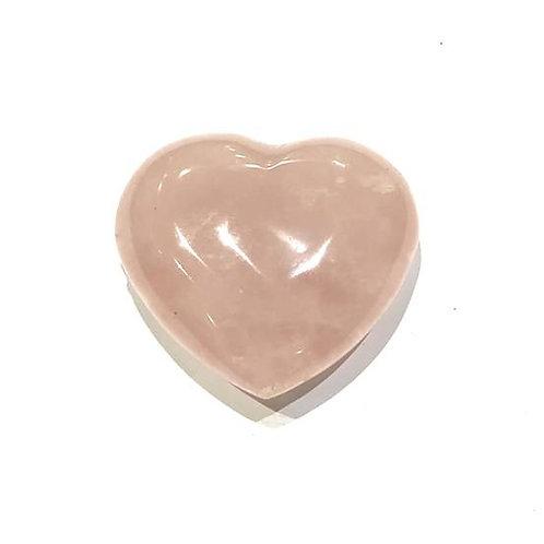 Καρδιά από ροζ χαλαζία