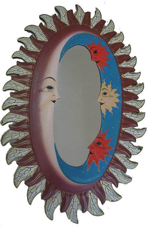 Καθρέφτης Ήλιος Οβάλ