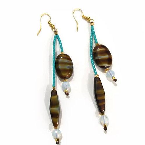 Σκουλαρίκια με χάντρες miyuki