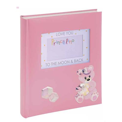 Παιδικό άλμπουμ με αρκουδάκι -ροζ