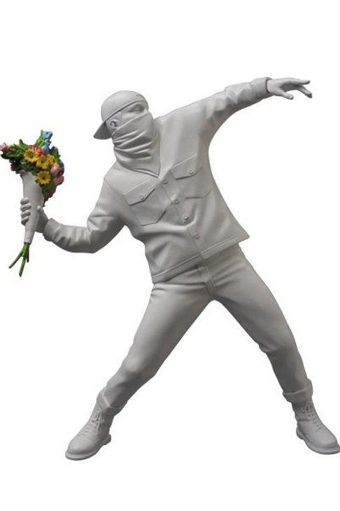 Throw Flower Statue