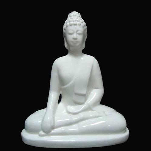 Βούδας λευκός από πορσελάνη