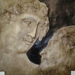 Αρχαικό ζευγάρι-πίνακας