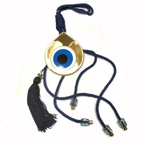 Γούρι με μάτι -χρυσό 80cm