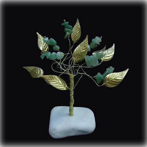 Δέντρο Tύχης από Αβεντουρίνη για καλοτυχία