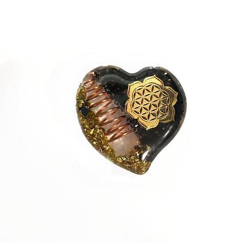 Οργονίτης καρδιά με μάνταλα