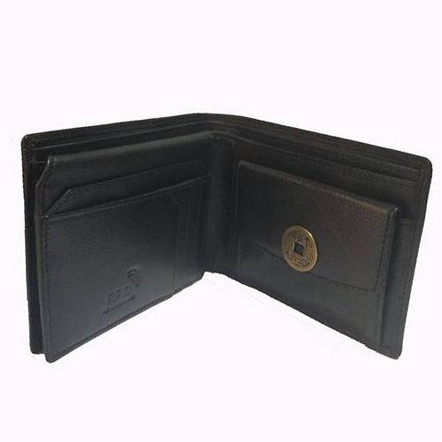 Δερμάτινο Πορτοφόλι με το  νόμισμα I-Ching -Ανδρικό