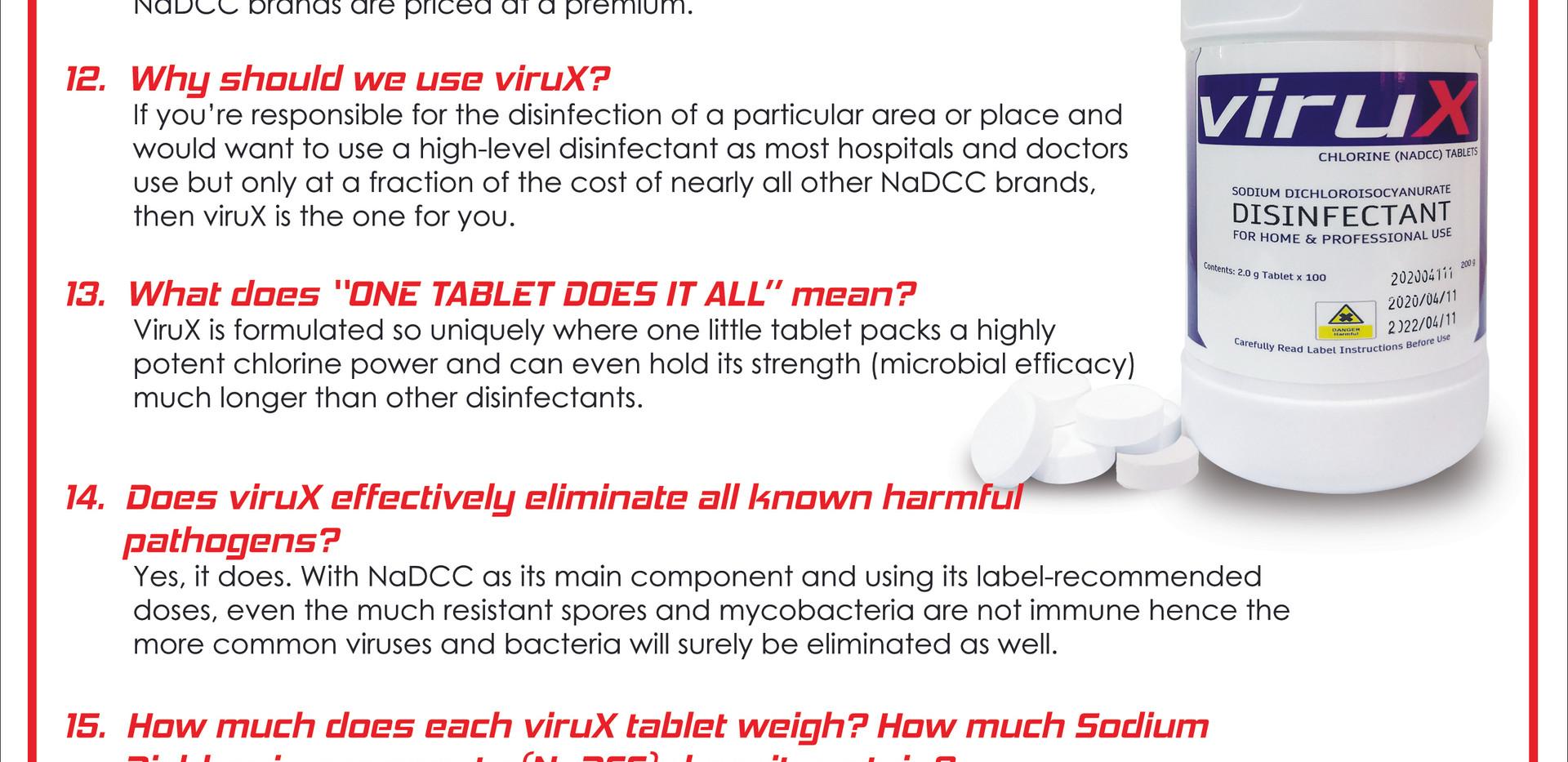 FAQ About viruX