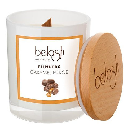 BELASH SOY CANDLES - CARAMEL FUDGE