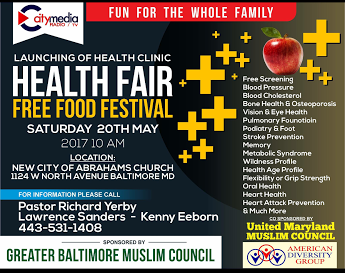 Health Fair 20th May 2017