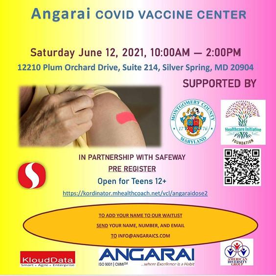 Pfizer Dose 2 @Angarai Covid Vaccine Center